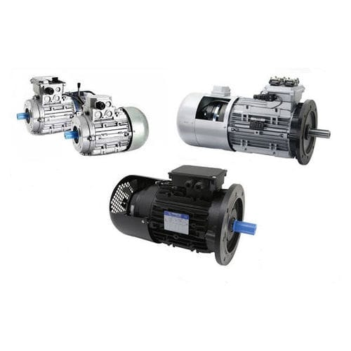 moteur AC / triphasé / asynchrone / 380 V