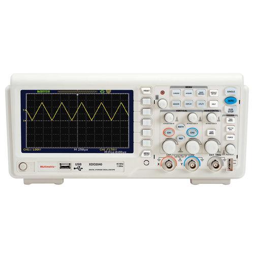 oscilloscope numérique / sur table / 2 voies / USB