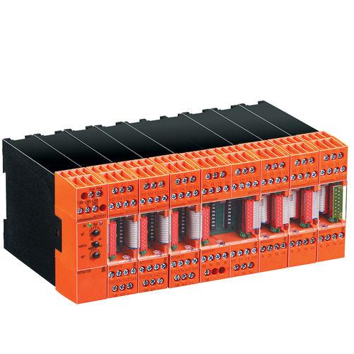 relais de sécurité / 1NO/NF / modulaire / sur rail DIN