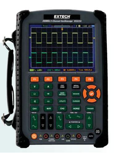 oscilloscope numérique / portable / 2 voies