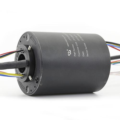 Collecteur tournant via Ethernet / PROFIBUS / électrique / à axe creux LPT025-0615-16S JINPAT Electronics Co., Ltd.