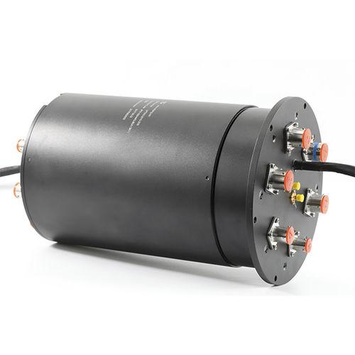 Collecteur tournant électrique / pour bus CAN / PROFIBUS / à axe creux non traversant Slip ring for airborne radar antennaHF signal  JINPAT Electronics Co., Ltd.