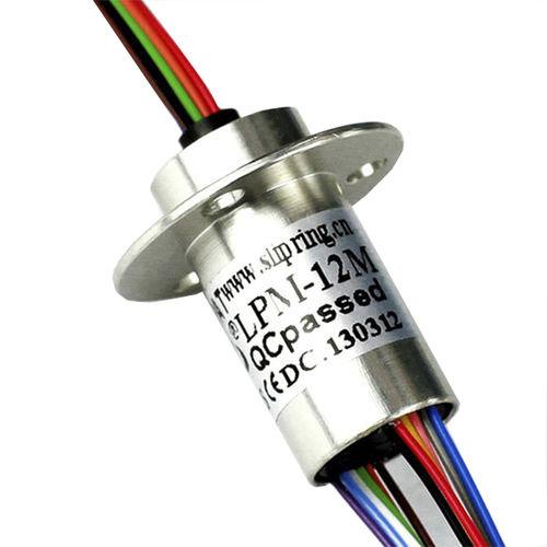 Collecteur tournant électrique / à capsule / pour éclairage à LED / 12 circuits LPM-12A JINPAT Electronics Co., Ltd.