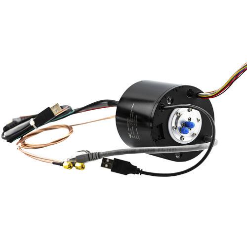 collecteur tournant électrique / via Ethernet / pour bus CAN / PROFIBUS