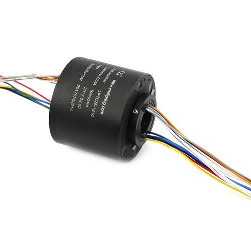 collecteur tournant USB / à axe creux / compact