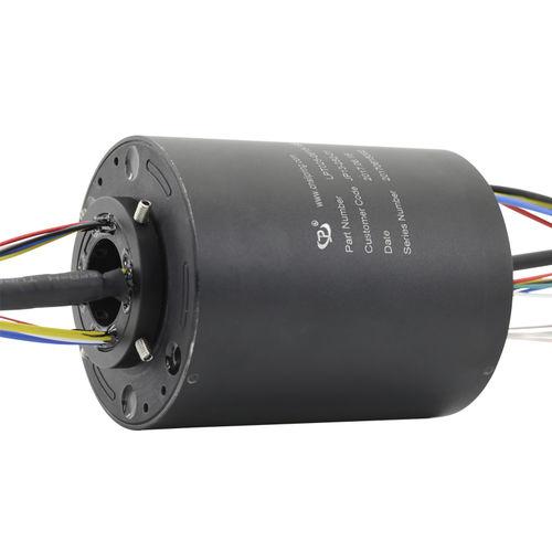 collecteur tournant électrique / via Ethernet / PROFIBUS / à axe creux