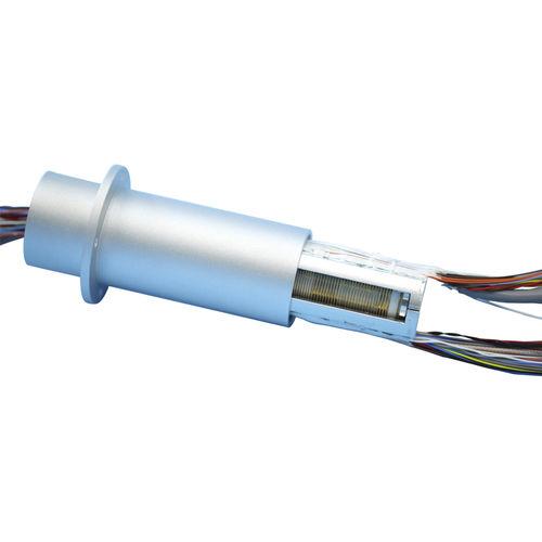 collecteur tournant HD-SDI / à capsule / en aluminium / avec contacts en or