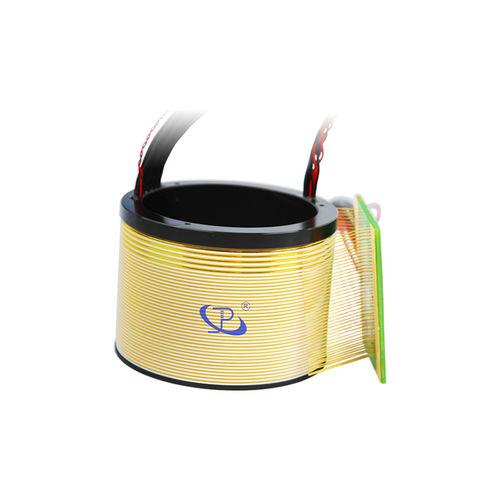 collecteur tournant en 2 parties / en aluminium anodisé / avec contacts en or