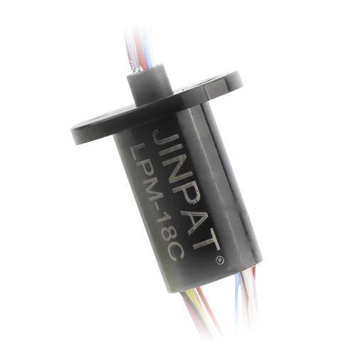 collecteur tournant pour bus CAN / Gigabit Ethernet / à capsule / robotique