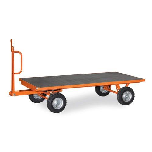 remorque à 2 essieux / pour matériel industriel / modulaire