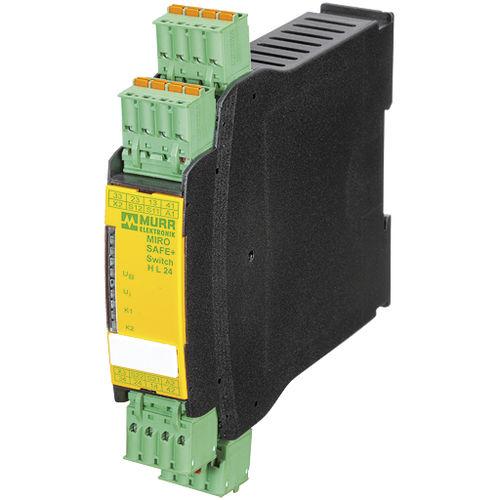 relais de sécurité / 3NO / 1NF / sur rail DIN