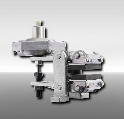 Étrier de frein à disque / desserrage hydraulique / serrage à ressort DV 020 FHM RINGSPANN