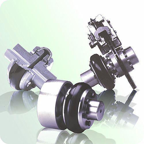 accouplement flexible / pour transmission / pour arbre de transmission / pour excavateur