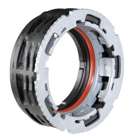 Raccord rapide / droit / hydraulique / en plastique Twist III NORMA GROUP