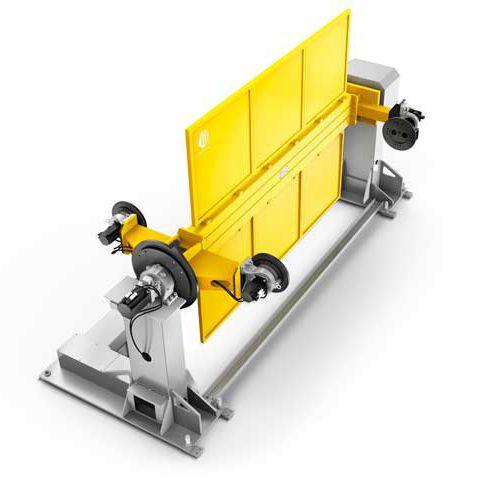 Positionneur motorisé / rotatif / 1 axe / pour robot PTDO COMAU Robotics