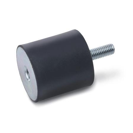 tampon de vibration