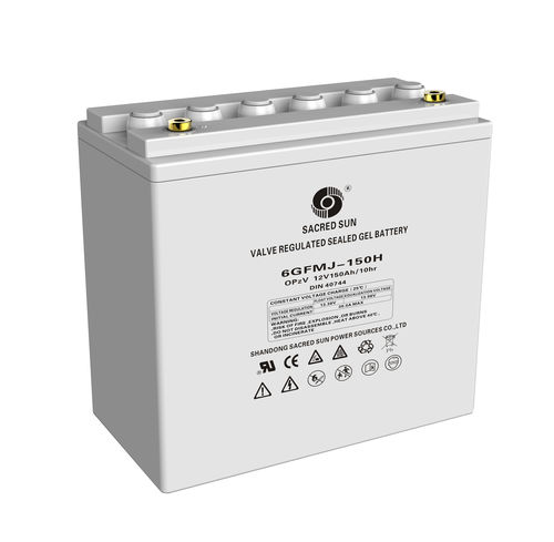 Batterie AGM / de bloc / haute capacité GFM-H Series Shandong Sacred Sun Power Technology