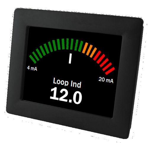 Ampèremètre DC / numérique / à montage sur panneau 4 - 20 mA | SGD 35-M420 Lascar Electronics