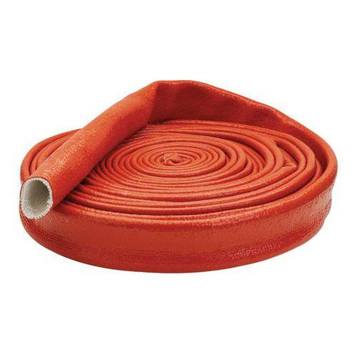 collier de protection incendie pour tuyau en plastique