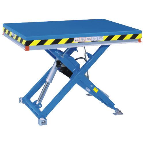 table élévatrice à ciseaux / électrique / mobile