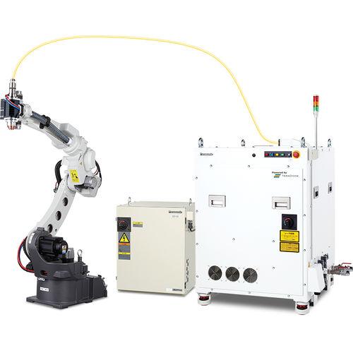 robot de soudage par points / de soudage à l'arc / de soudage laser / compact