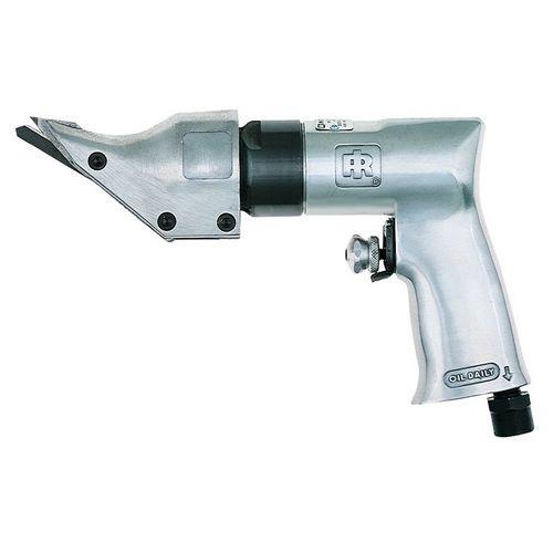cisaille pneumatique / pour tôle métallique / coupe-feuillard / portative