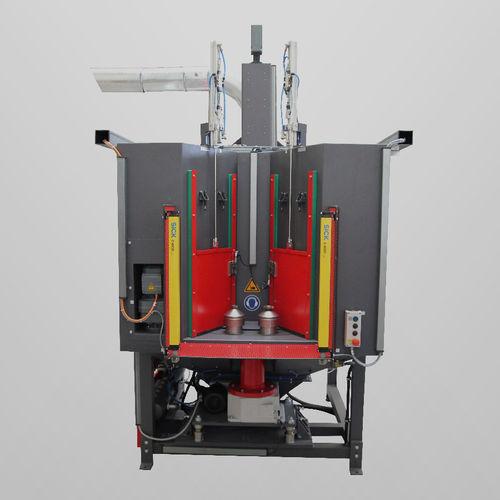 grenailleuse à table tournante / pour métal / automatique