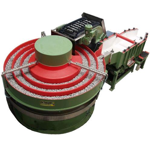 machine de tribofinition rectifieuse / d'ébavurage / centrifuge / pour l'industrie