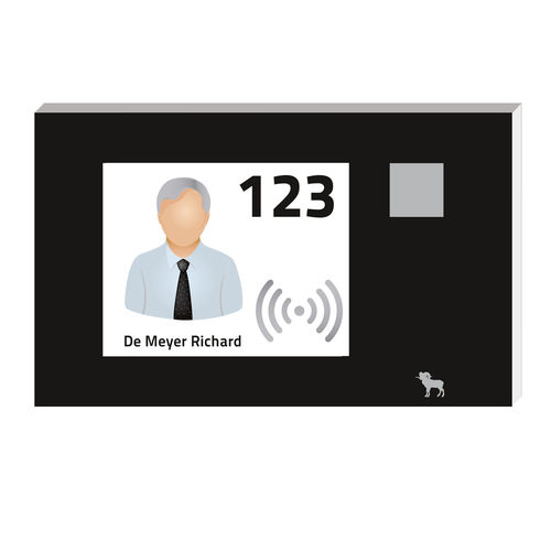lecteur de carte sans contact / de proximité / RFID / 13,56 MHz