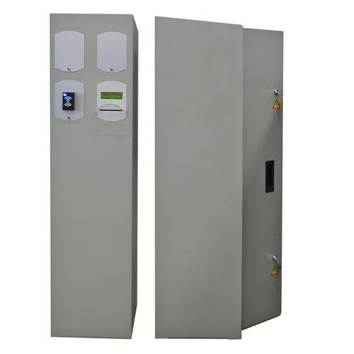 Borne de contrôle d'accès / fixe / en aluminium CubeLine Alphatronics