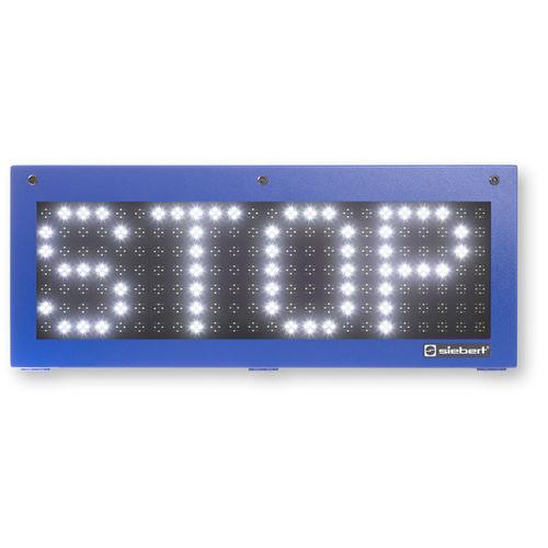 Afficheurs à LED / alphanumériques / à matrice de points / numériques SX602 series Siebert Industrieelektronik GmbH