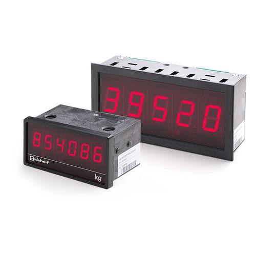 Afficheurs à LED / numériques / à 1 ligne / compacts S102 series Siebert Industrieelektronik GmbH