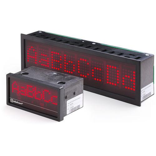 Afficheurs à LED / alphanumériques / à matrice de points / numériques SX102 series Siebert Industrieelektronik GmbH