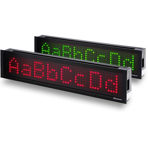 Afficheurs à LED / à matrice de points / alphanumériques / numériques SX202 series Siebert Industrieelektronik GmbH