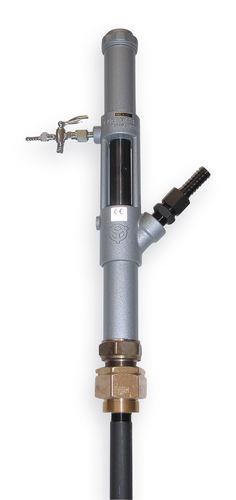 pompe pneumatique / semi-immergée / à piston / industrielle