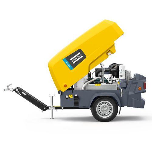 compresseur d'air / mobile / à moteur diesel / de petite dimension
