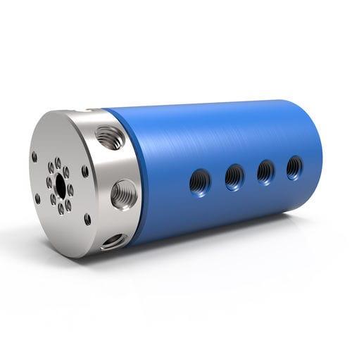 Raccord tournant pour air / pour le vide / pour gaz / 8 passages LT 8 DSTI - Dynamic Sealing Technologies