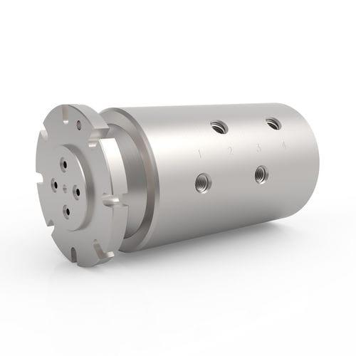 Raccord tournant pour eau / pour huile / 4 passages / hydraulique HPS 4 DSTI - Dynamic Sealing Technologies