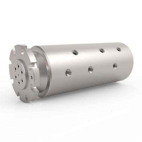 Raccord tournant pour eau / pour huile / 6 passages / hydraulique HPS 6 DSTI - Dynamic Sealing Technologies