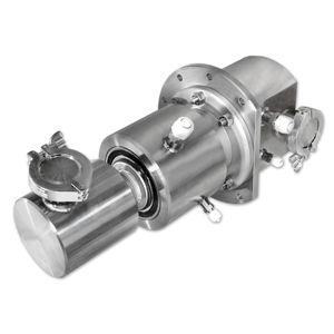 raccord tournant pour eau / pour gaz / 3 passages / haute pression