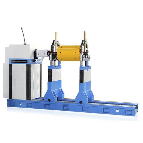 machine à équilibrer horizontale / dynamique / pour ventilateurs / pour arbre d'hélice