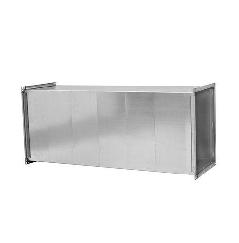 Gaine de ventilation rigide / en aluminium / en acier galvanisé / calorifugée QD series ALNOR Ventilation Systems