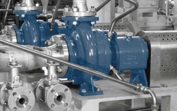 pompe pour produits chimiques / électrique / à rotor gainé / chimique