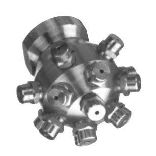 buse de lavage / pour liquides / multipoint / en acier inoxydable