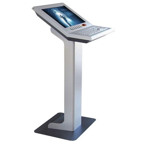 terminal à écran tactile / avec clavier / kiosque / Full HD