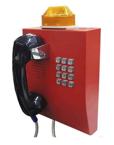 téléphone analogique / VoIP / IP65 / pour applications ferroviaires