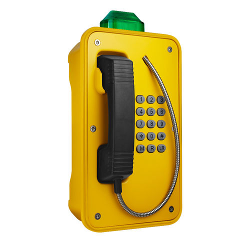 téléphone VoIP / IP66 / IK10 / IP67