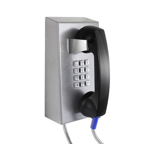 Téléphone VoIP / IP67 / pour applications ferroviaires / en acier inoxydable JR201-FK J&R Technology Ltd