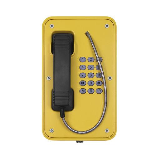 Téléphone VoIP / IP67 / pour applications ferroviaires / pour tunnel JR103-FK J&R Technology Ltd