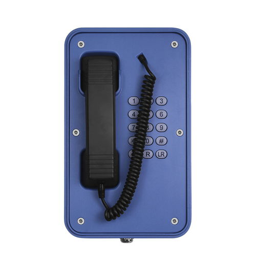 téléphone SIP / IP66 / IK10 / pour applications ferroviaires